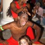 Tänzer -innen von Compagnie MusiCaribe