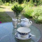 Seminarpause mit Tee-und-Kaffee im Grünen