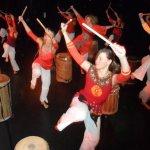 Tambour Dance Projket Triphonia  mit Carmen Rodina in Berlin/ Germany