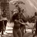 Afro Contemporary  Dance Class  in  Havana /Kuba